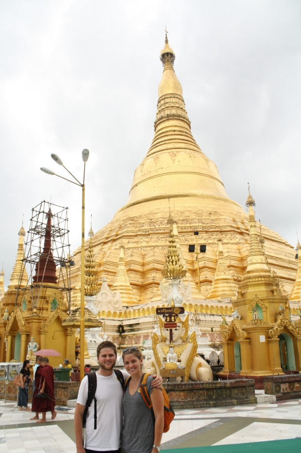 Our second visit to Shwedagon Pagoda.
