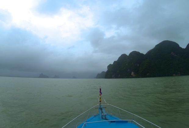 Phang Nga Bay off the coast of Phuket.