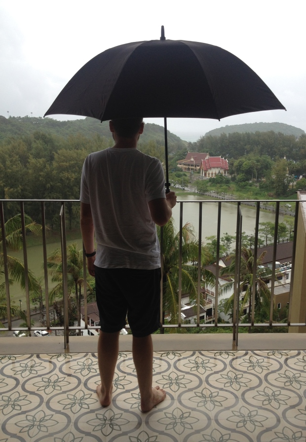 We were hopeful that it would stop raining.