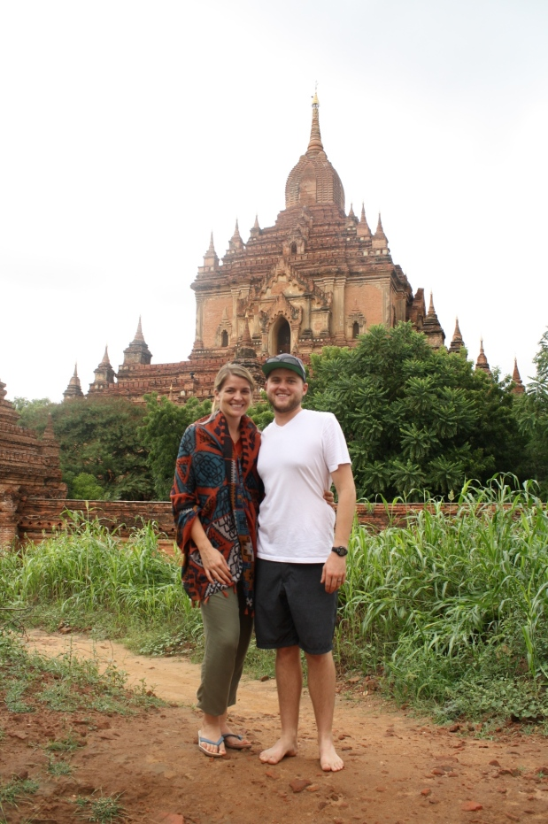 Thrilled to be in Bagan.