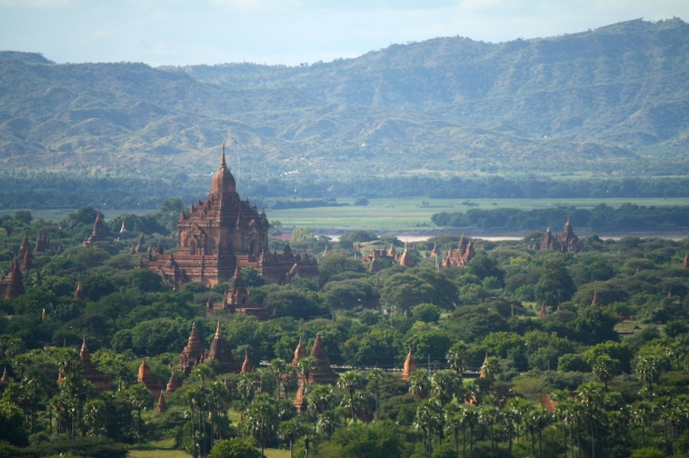 The view from the Bagan Observation Tower.
