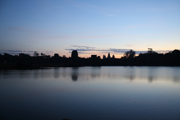 Sunrise over Angkor Wat on the Winter Solstice, 2014.